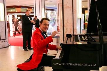 Pianist Reinhard Mürau