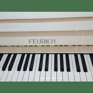 Feurich Klavier Weiss Poliert